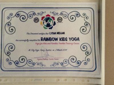 Rainbow Kids Yoga
